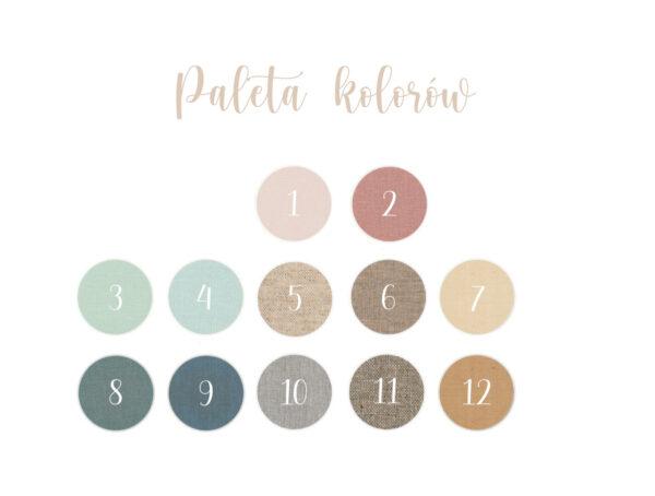 Album na zdjęcia paleta kolorów okładek