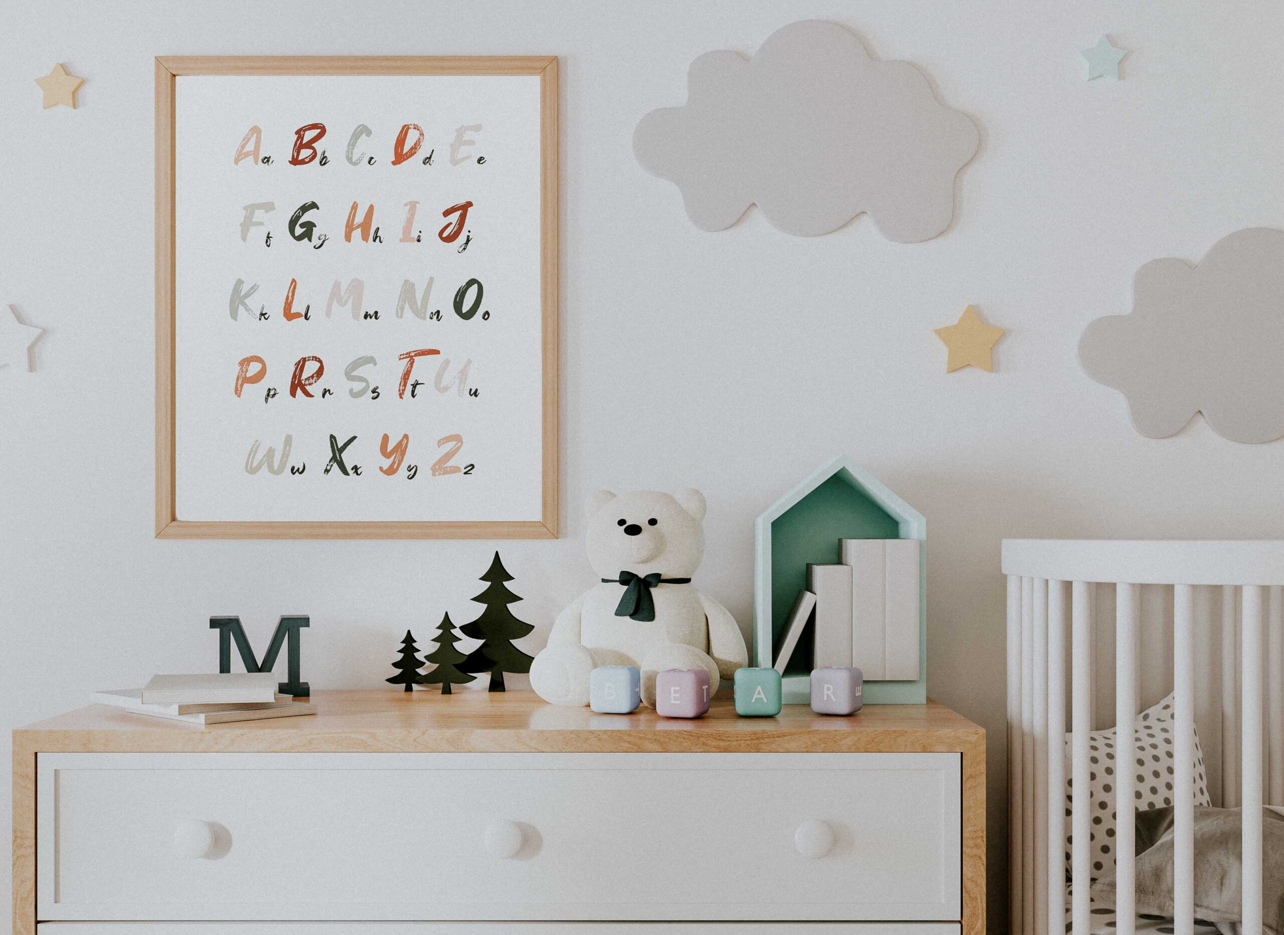 Alfabet – plakat